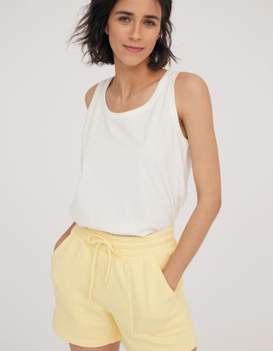 Cotton Top for Women, Made in Portugal