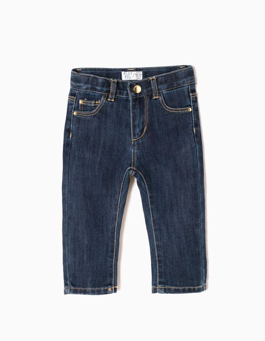 Dark Slim Leg Jeans