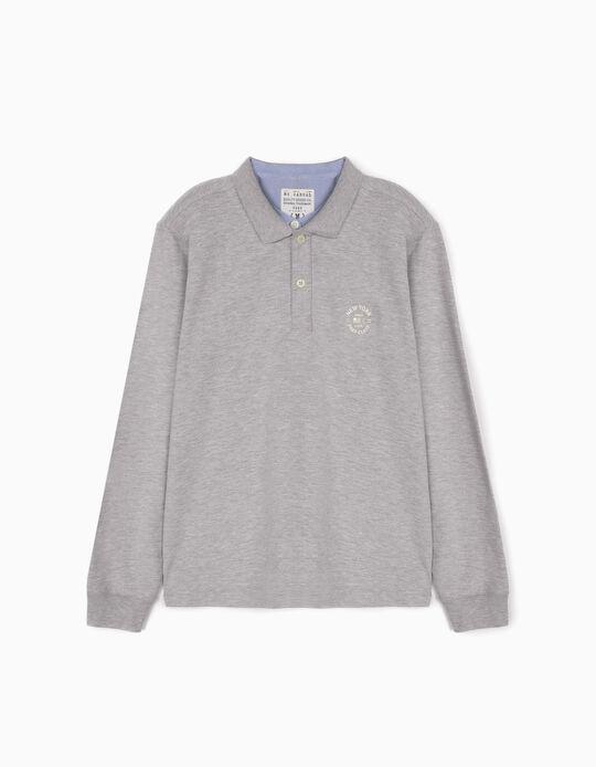 Polo shirt with double collar