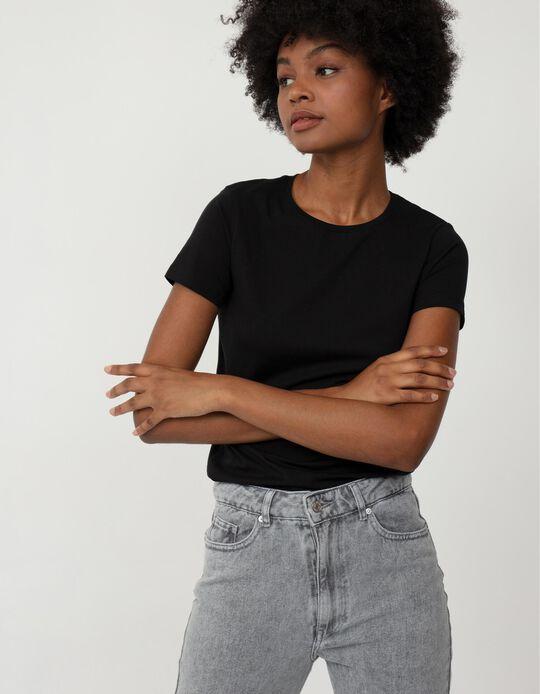 Basic Black T-shirt, Mo Essentials