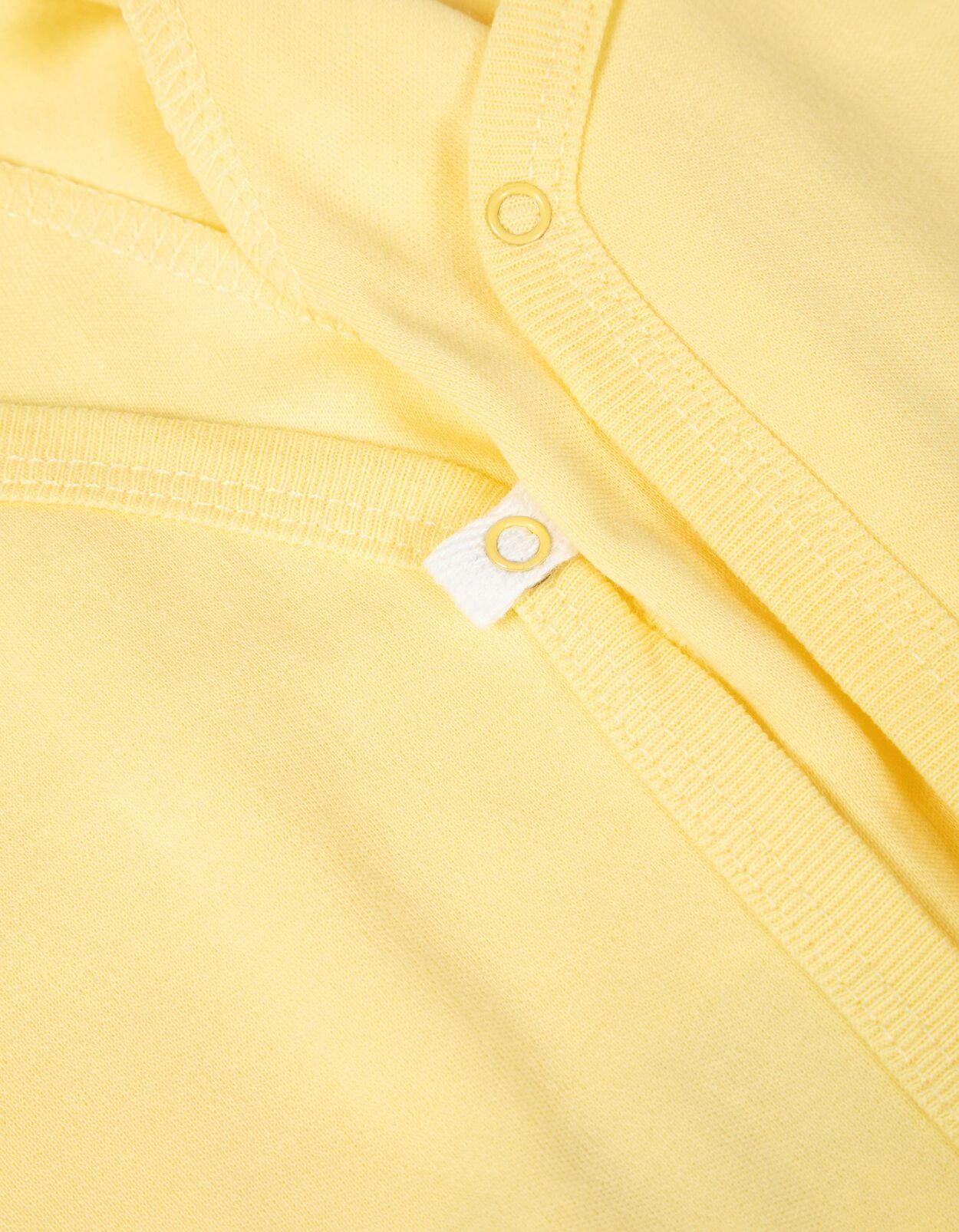 Piccalilly Body de manga larga para beb/é jersey de algod/ón org/ánico suave dise/ño de zorro turquesa