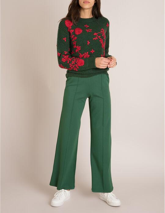 Calças Largas Verdes
