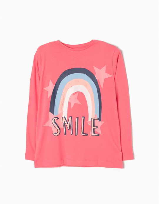 T-shirt Manga Comprida Smile