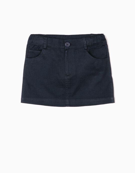 Twill Skirt for Girls