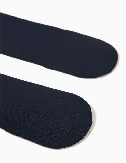 Collants Opacos Azuis