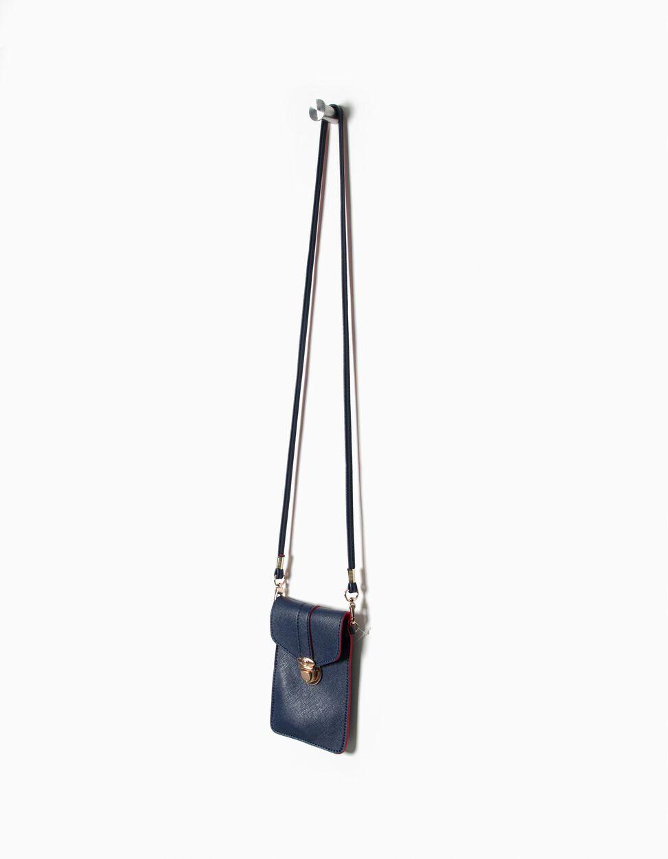 Bolsa telemóvel tiracolo