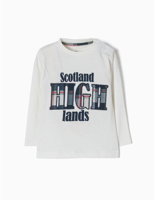 T-shirt Manga Comprida Scotland