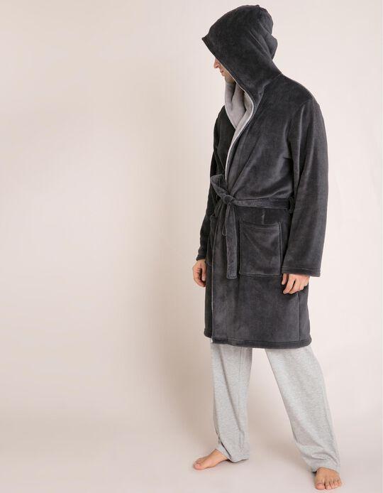 Robe Polar Com Capuz