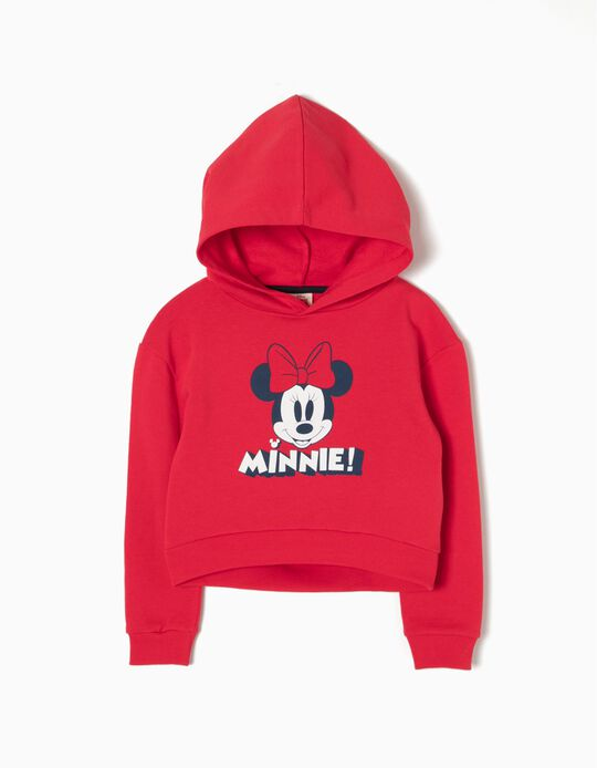 Sweatshirt Curta com Capuz Minnie
