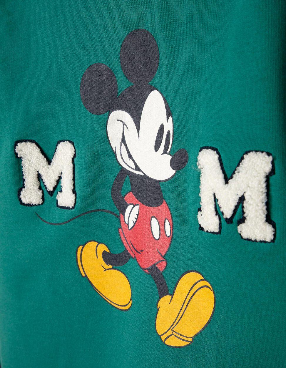 Sweatshirt Mickey Verde