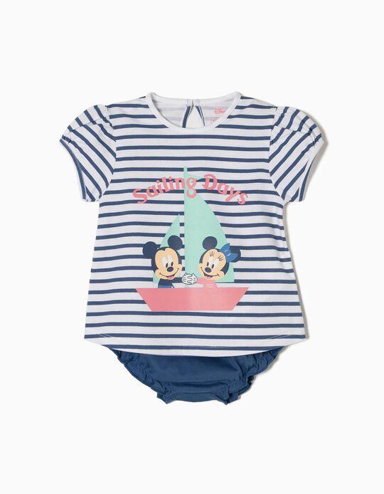 Conjunto T-shirt e Tapa Fraldas Disney