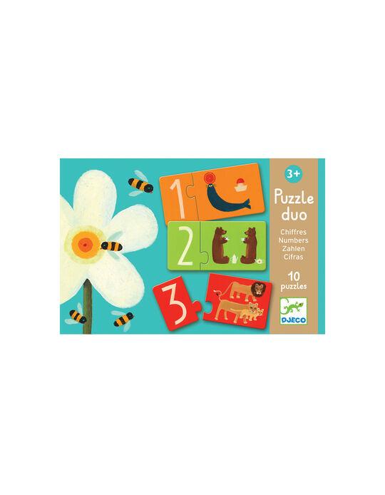 Puzzle Duo Números Djeco