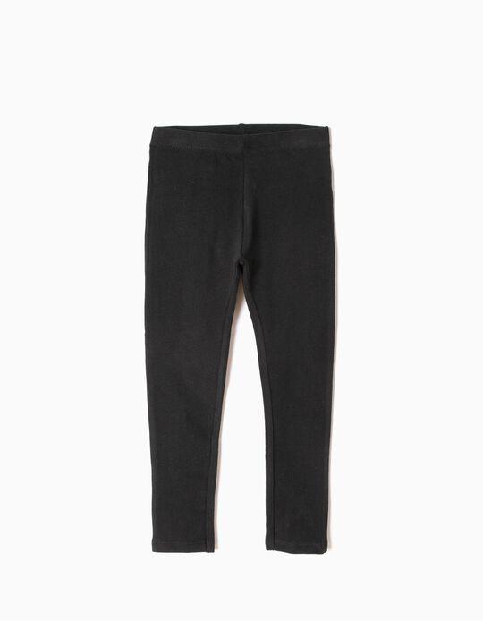 Leggings for Girls, Black