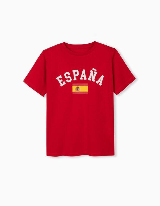 España' T-shirt for Children, Red