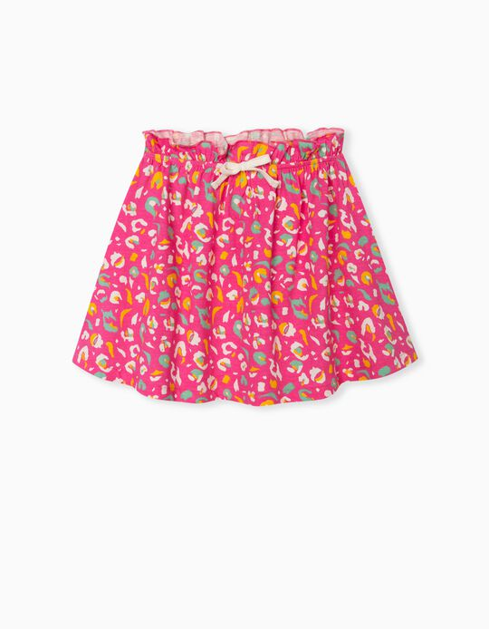 Skirt with Elasticated Waist, Girls