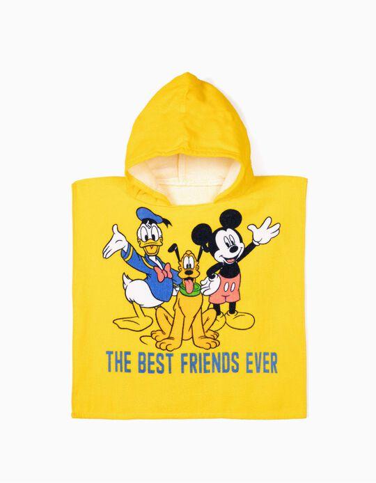 Poncho de Praia para Bebé Menino 'Mickey & Friends', Amarelo