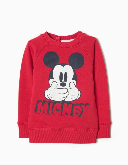 Sweatshirt Vermelha Mickey