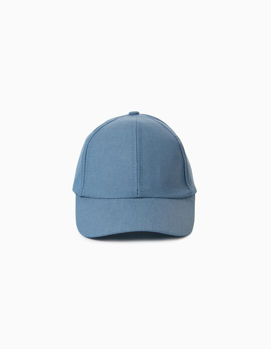 Cap with Little Bow for Children, Blue