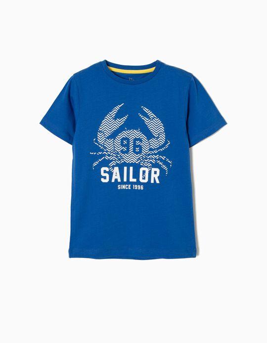T-shirt Manga Curta Sailor