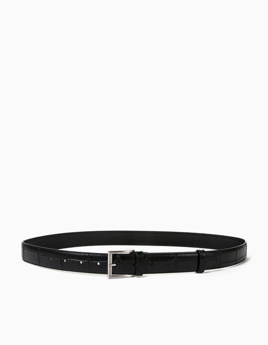 Synthetic Leather Belt, Men