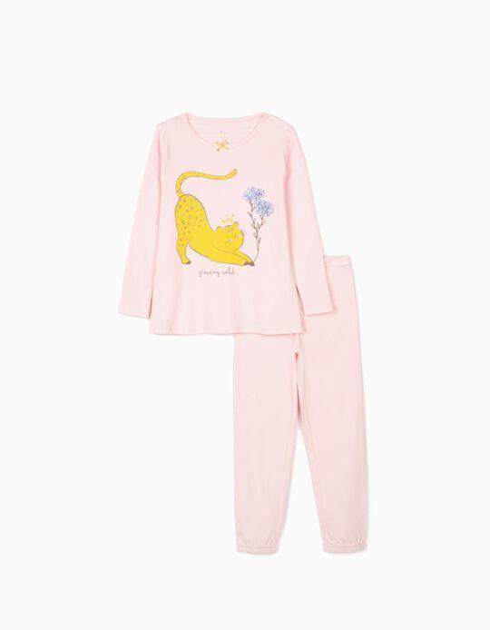 Pijama para Menina 'Growing Wild', Rosa