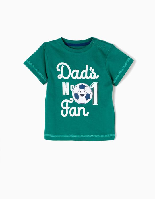T-shirt Daddy's Nº 1 Fan