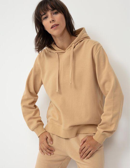 Basic Hooded Sweatshirt for Women