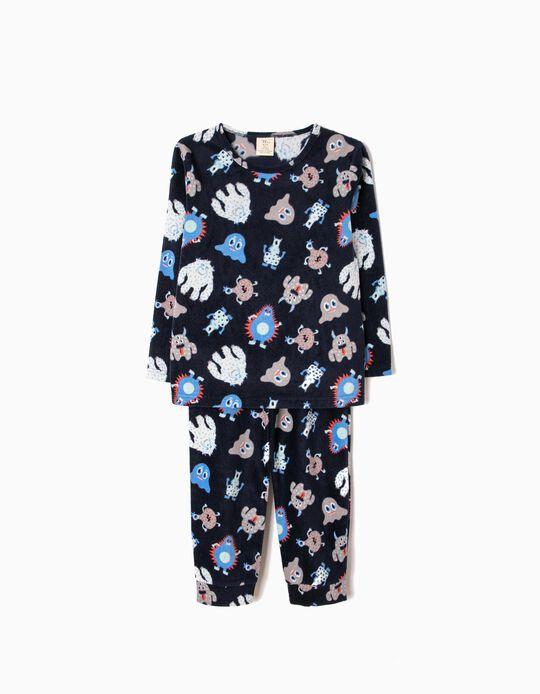 Pijama Polar Little Monsters