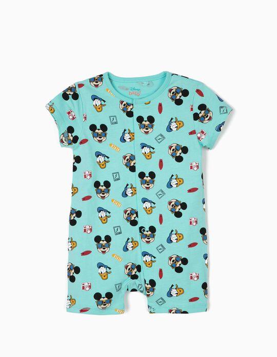Babygrow para Bebé Menino 'Mickey & Donald', Azul
