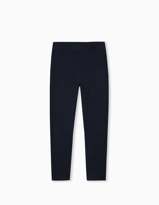 Leggings for Girls, Dark Blue