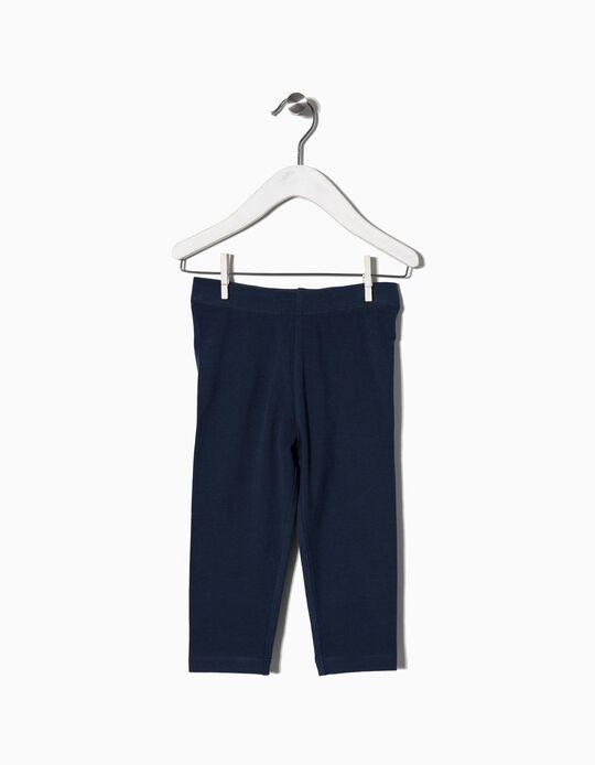 Leggings Básicas Azuis