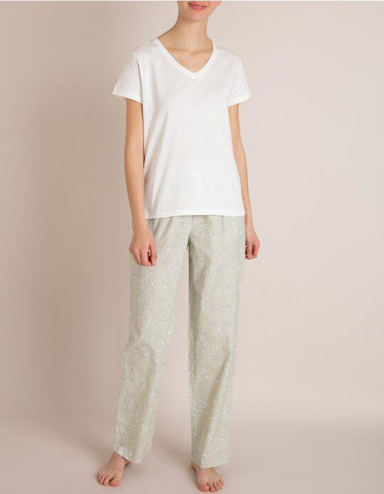 Calças De Pijama Algodão
