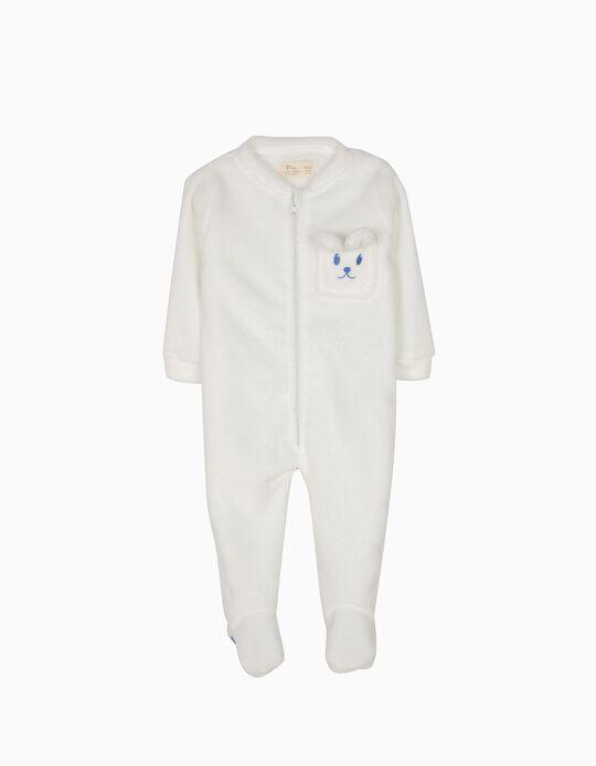 Pijama Macacão com Capuz e Pés Little Rabbit