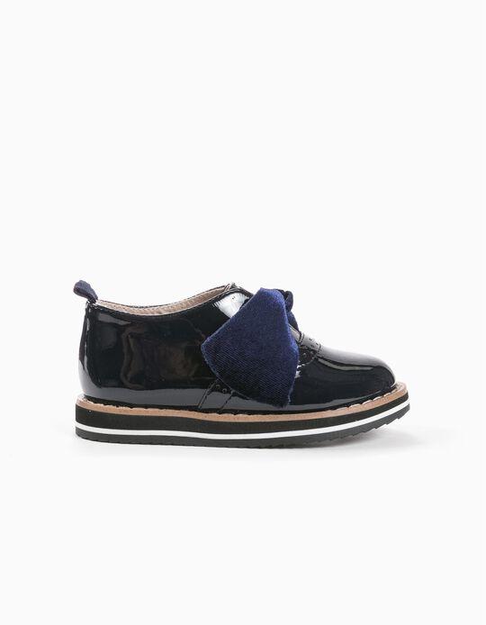 Sapatos Laço Veludo