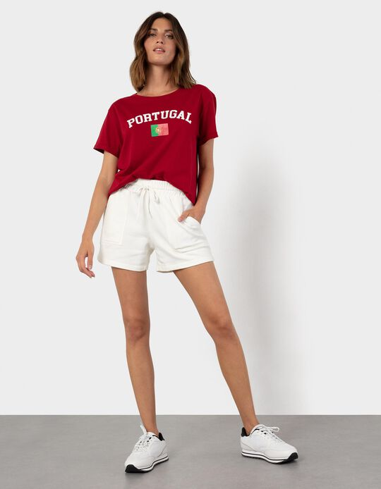 Portugal' T-shirt for Women, Red