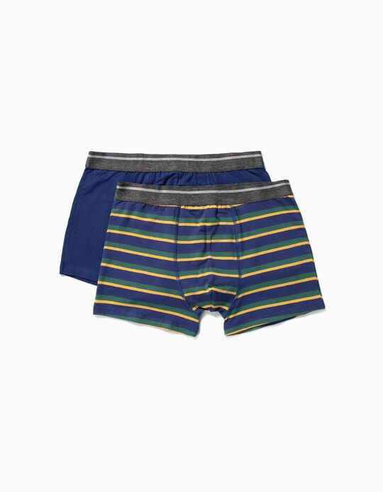 Assorted Boxer Shorts, Pack of 2