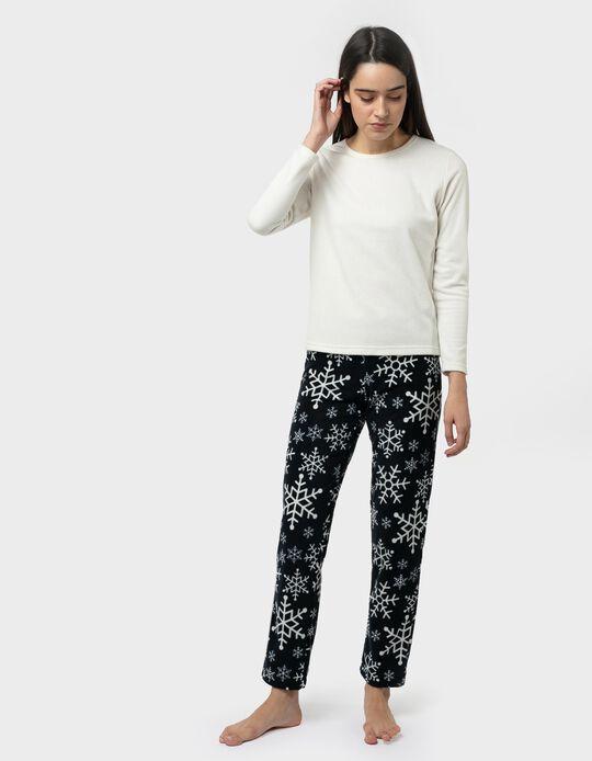 Pijama polar natalício
