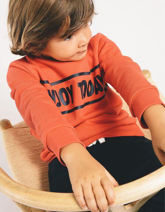 Fato de Treino para Menino 'Enjoy Today', Vermelho/Azul Escuro