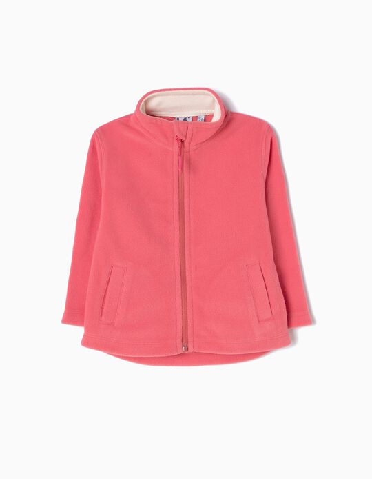 Pink Polar Fleece Jacket