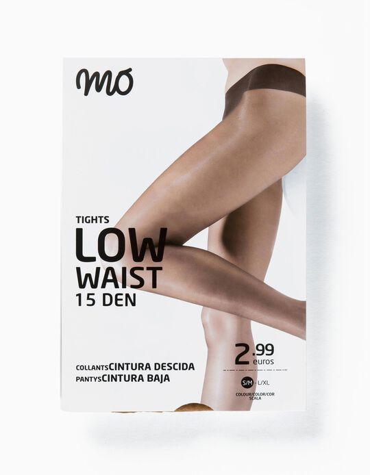 Low Waist Tights, 15 Den