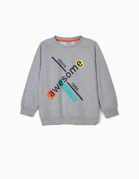 Sweatshirt estampada