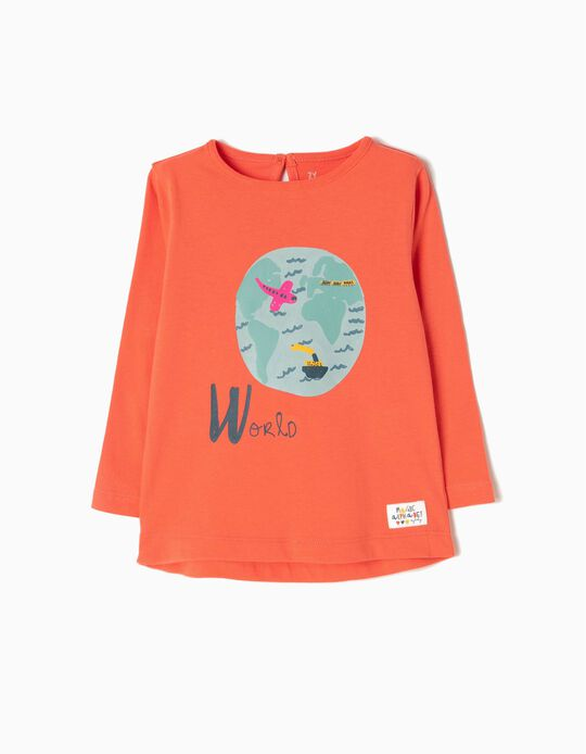 Long-Sleeved Top, World