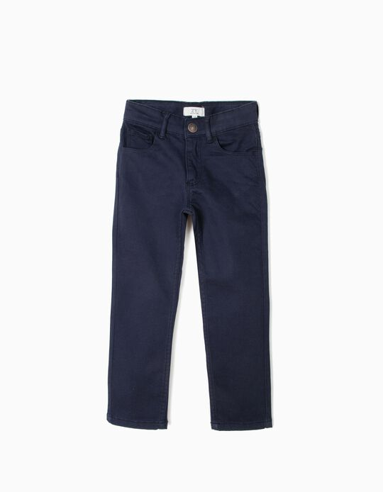 Calças para Menino, Azul Escuro