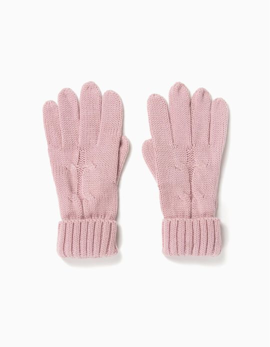 Fancy Knit Gloves