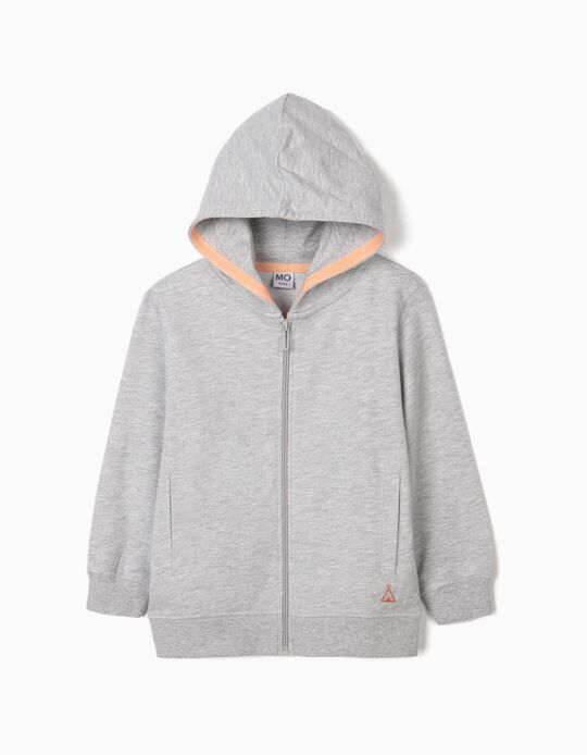 Fleece Jacket with Hood, for Girls