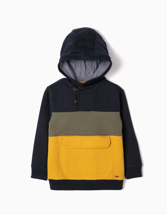 Sweatshirt com Capuz para Menino 'B&S', Multicolor