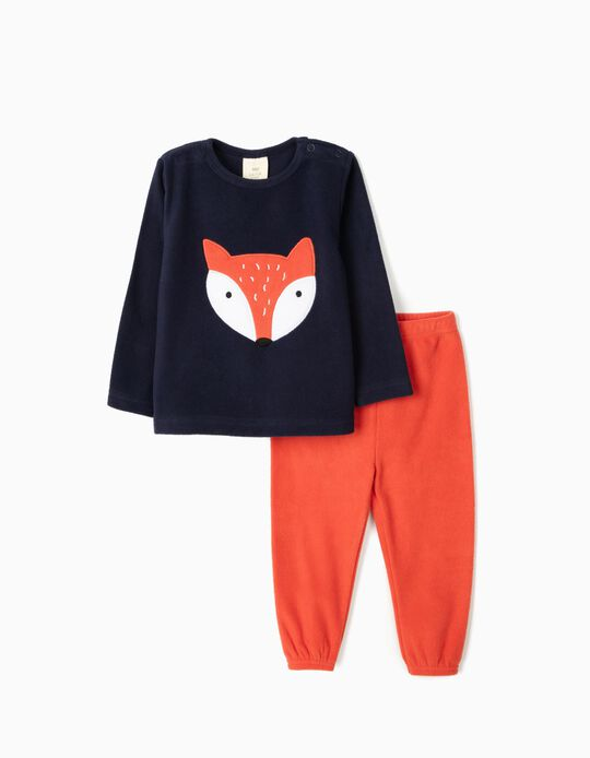 Polar fleece pyjamas Fox