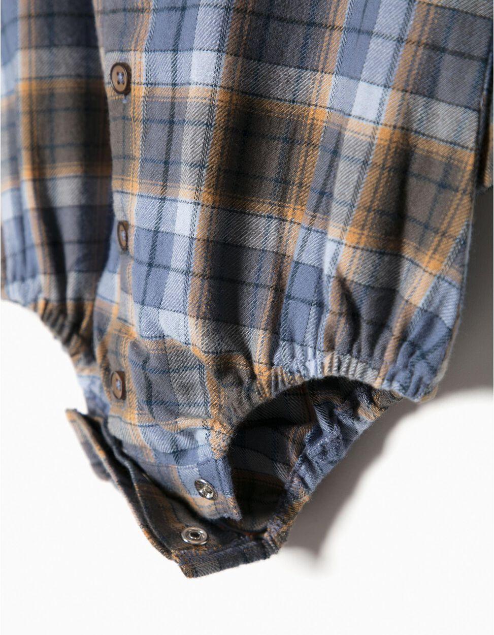 Body Camisa Xadrez