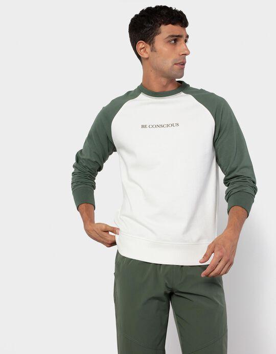Lightweight Sweatshirt for Men, White