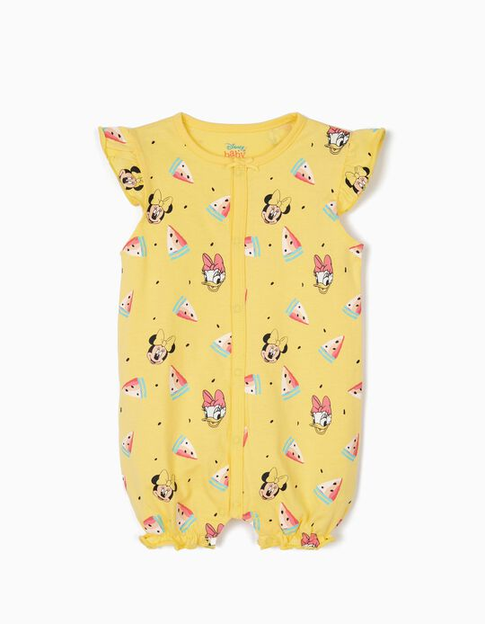 Babygrow para Bebé Menina 'Minnie & Daisy', Amarelo
